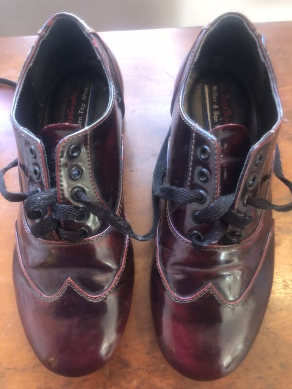 Miller and Ben Triple Threat Custom Tap Shoes 37 1/2W