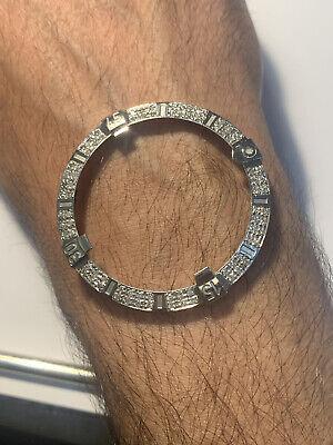 Mens Breitling Super Avenger 48MM Steel Diamond Bezel
