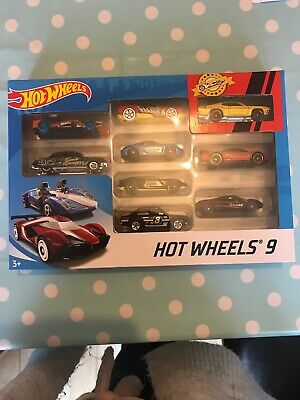 Hot Wheels 9 Pack Includes Escort RS1600