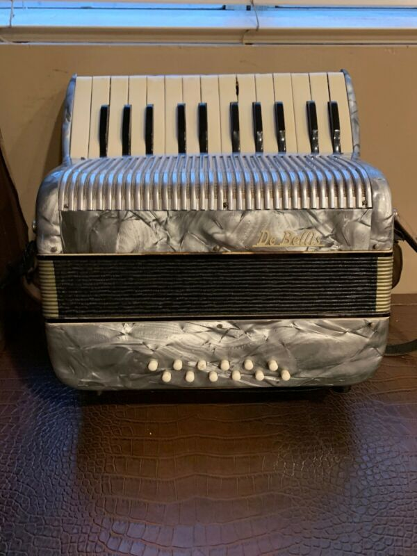 Vintage DeBellis NY Piano Accordion