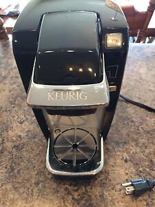 Keurig coffee maker & K-cup holder
