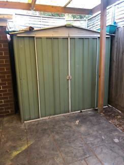 Outdoor shed