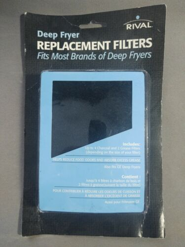 Rival RF22 Deep Fryer Replacement Filters