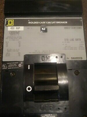 Sq D Breaker La36400 Series 4