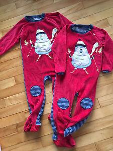 Pyjamas Clément neuf 30mois velours