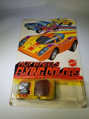 HOT WHEELS Redline 1974 Blister Pack Flying Colors SIR RODNEY ROADSTER Yellow