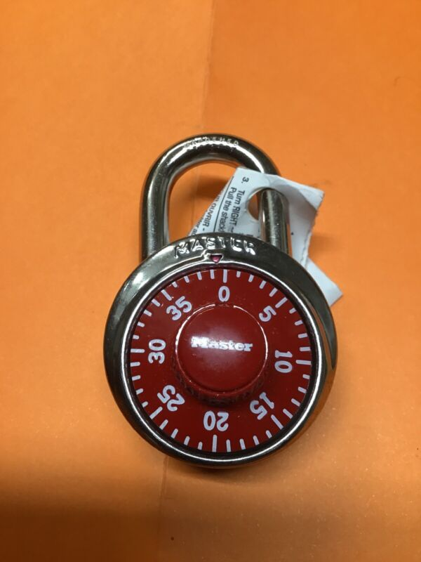 Master Lock Set Of 3 Three With Same Combination