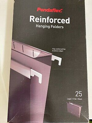 Hanging Office Cabinet File Folders - Legal Size 25-pack