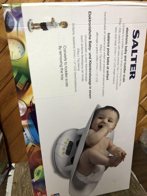 Salter 914WHLKR Infant & Toddler Bath Scale Brand New