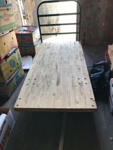 "Uline Wood Platform Truck 30""x60"" - Pick-Up Only"