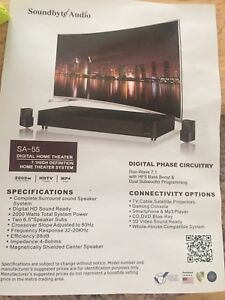 Sa-55 digital home theatre system