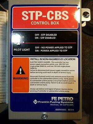 Franklin Fuelingfe Petro 400818921 Stp-cbs 2hp120v Single Phase Cont Box New