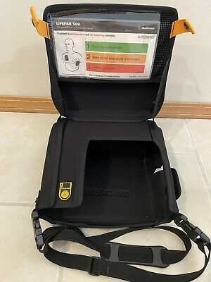 Medtronic Physio-control Lifepak 500 Case Only With Shoulder Strap