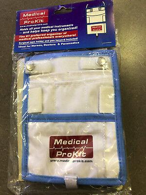 Medical Paramedic Nurse Gear Pouch Pro Kit Pocket - Shears Pen Lights Reflex