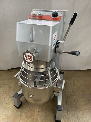 Dito Dean Em20 20 Qt. Floor Mixer With Paddle Whisk Dough Hook