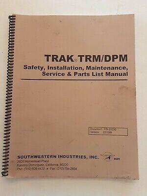 Southwestern Prototrak Trmdpm Safety Install Maint Service Parts Manual