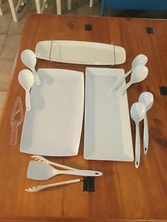 Serving Trays and Spoons