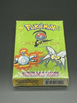 Pokemon TCG Base Set 2 Lightning Bug Theme Deck Brand New Sealed from 2000
