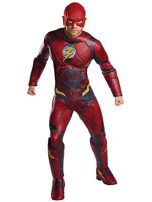 Men's The Flash Justice League Movie Adult Plus Costume](Cheap Movie Costumes)
