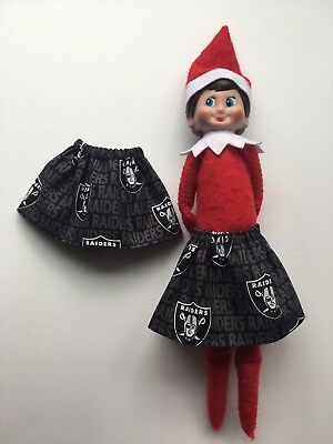 Christmas Scout Elf Skirt - Oakland Raiders NFL Game Day Football Outfit Vegas (Scout Elf)