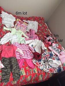 Baby girls clothes 6-12m