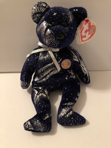 TY Beanie Baby - ASTRA the Bear   - MWMTs