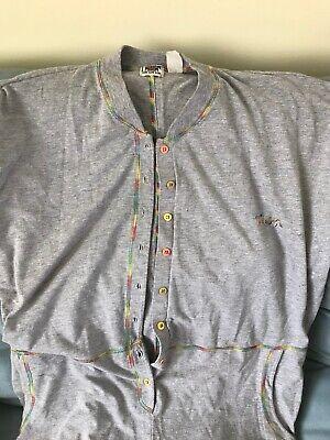 Vintage Grey Jumpsuit Ton Sur Ton One Size Unisex