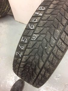 x1 Toyo Open Country Winter Tire 265/60/18