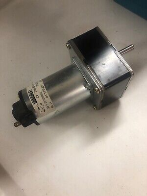 Crouzet Gear Motor 80807015 828000 42rpm 12v Dc 17w Ratio 1252 New