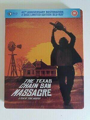 Texas Chain Saw Massacre (Hooper, 1974, Limited Edition Steelbook Blu-ray) OOP