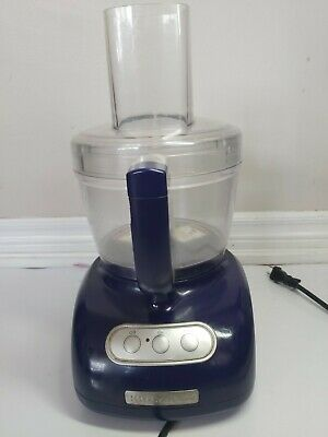 KITCHENAID KFP750 12-CUP FOOD PROCESSOR tested and working