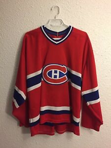 Montreal Canadiens Jersey CCM Vintage