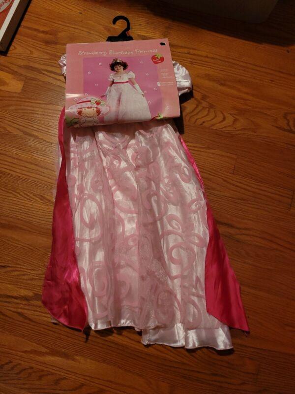 Strawberry Shortcake Costume Princess Toddler Girls Costume Fancy Dress Up 2-4T