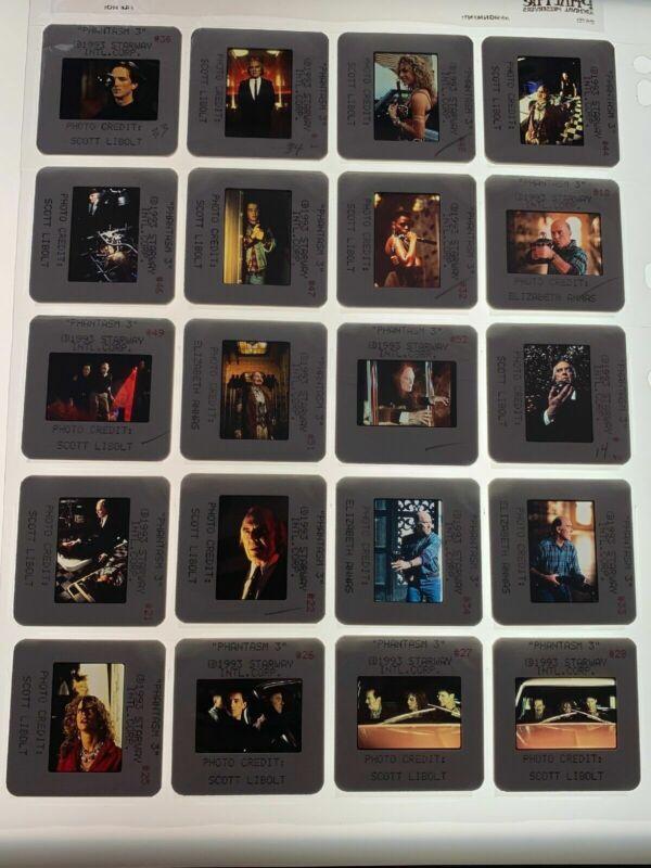 20 Phantasm III Horror Movie 35mm Photo Slides Tall Man Vtg Press Kit 1993 Lot 2