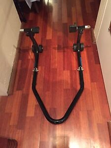 Oxford big black bike rear paddock stand North Parramatta Parramatta Area Preview