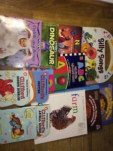 Toddler book lot - 12 books