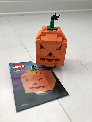 Lego 40055 Seasonal Pumpkin Jack O'Lantern 100% Complete w/ Instructions.