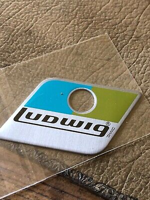 Ludwig Blue And Olive Repro Badge