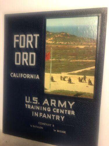 Fort Ord California US Army Training Center Infantry Company B 2d Batt. 1st Brig