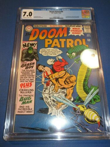 Doom Patrol #99 Silver age 1st Beast Boy Huge Key Wow Teen Titans CGC 7.0 FVF