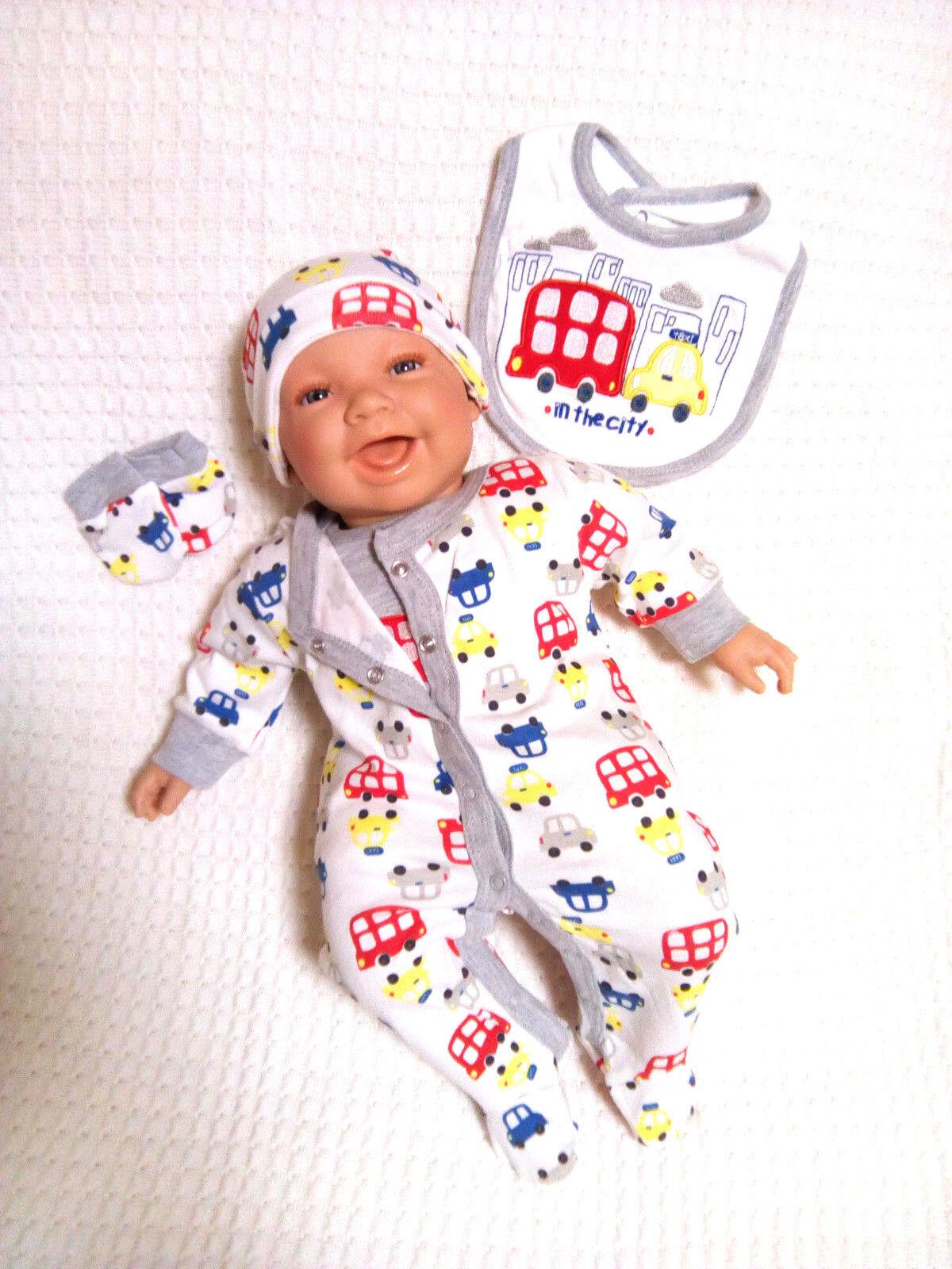 Baby Erstausstattungsset Geschenkset 5-tlg Jungs  Lilly&Jack  grau