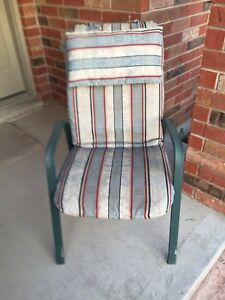 Summer Chairs with Cushions