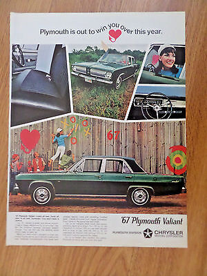 1967 Plymouth Valiant Sedan Ad