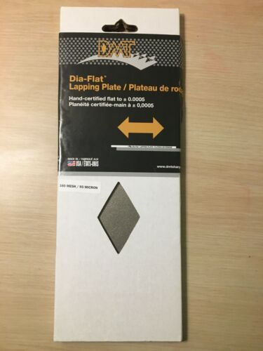 """DMT DIAFLAT 10"""" LAPPING PLATE 160 MESH/ 95 MICRON  NEW"""