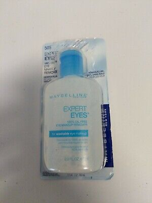 Maybelline Expert Eyes Oil-Free Eye Makeup Remover Washable Eye Makeup OPEN BOX