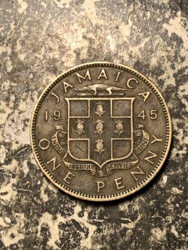 1945 Jamaica 1 Penny Lot#Q8925