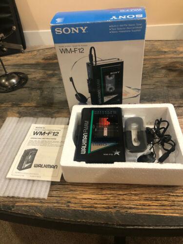 Sony Walkman WM-F12 - Works