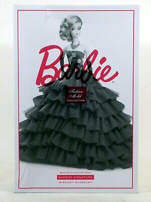 New in *Damaged Box* - Barbie MIDNIGHT GLAMOUR Fashion Model Silkstone Doll