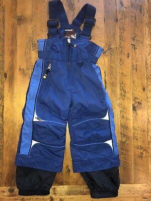 f4876bb8b Obermeyer Youth Size 2 XS Bibs Overalls Ski Pants Blue I-Grow System - MINT!