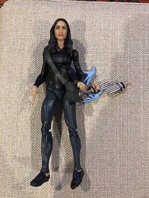 "Marvel Legends Claire Temple Netflix 2-pack exclusive Loose 6"" w/ fodder"